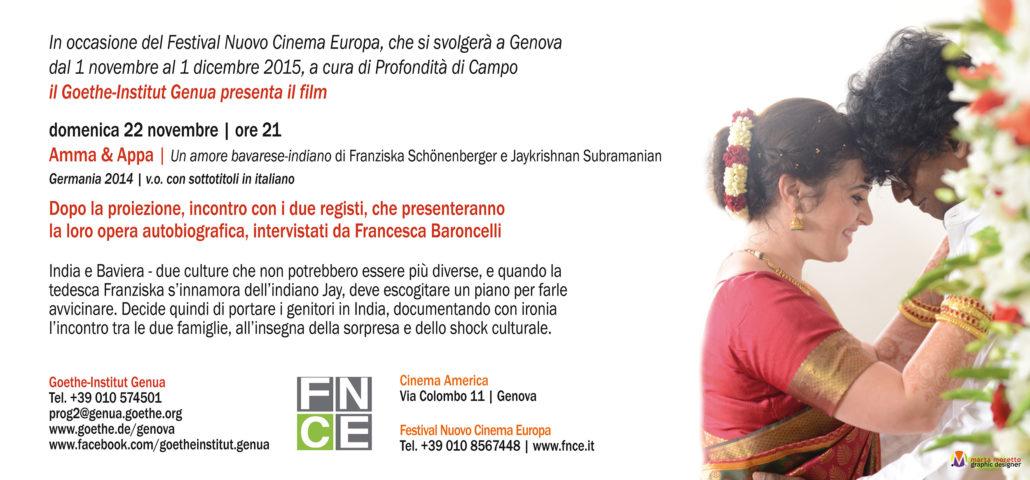 FESTIVAL NUOVO CINEMA EUROPA | 2015