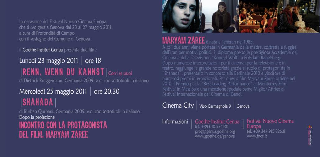 Festival Nuovo Cinema Europa | 2011