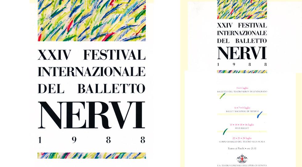 XXIV FESTIVAL INTERNAZIONALE DEL BALLETTO DI NERVI   1988