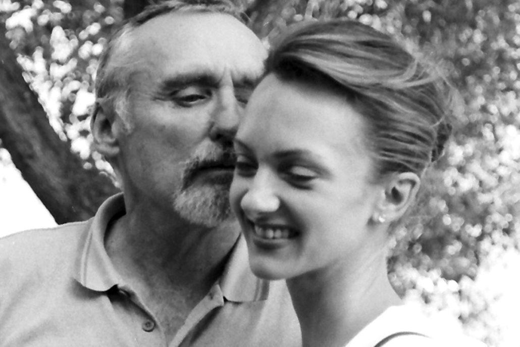 Dennis Hopper e Uma Thurman