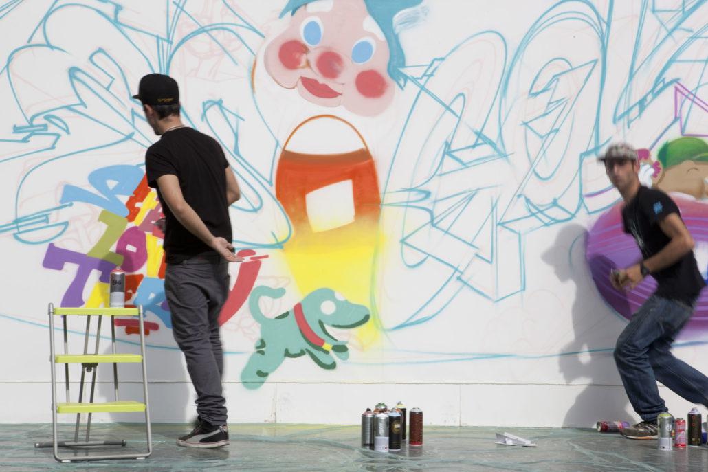 The walls speak | SPRY+WRITERS= SPRITERS | 2013 | Milan | Italy